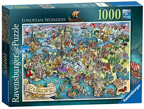 Ravensburger Puzzle Europa, 1000Teile -