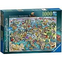 Ravensburger European Wonders 1000pc Jigsaw Puzzle