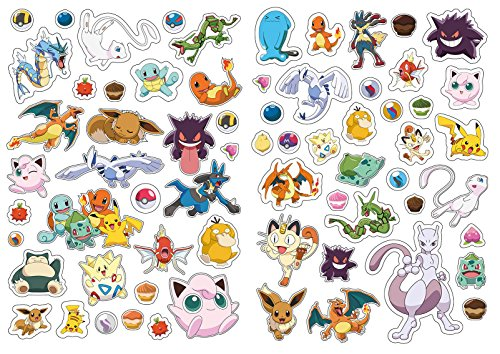 Image of The Official Pokémon Legendary 1001 Stickers (Pokemon)