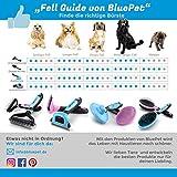 Bluepet *Doppeldecker* 2in1 Fellbürste | Hundebürste | Katzenbürste für Kurz- bis Langhaar– Fellstriegel für jedes Fell (Pink) - 8