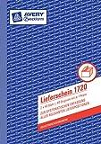 Avery Zweckform 1720 Lieferschein weiß