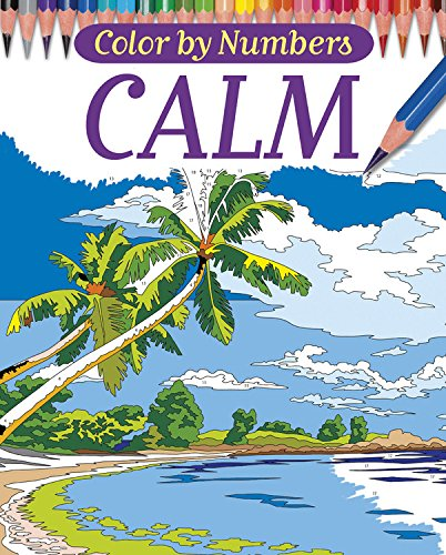 Color by Numbers - Calm (Chartwell Coloring Books)
