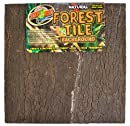 Zoo Med NWB-3E Natural Forest Tile Background, 46 x 46 cm Rückwand für Terrarien in Baumrindenoptik
