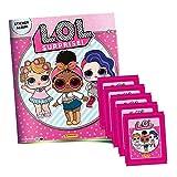 Panini De l.o.l. Surprise stickerko llektion-1x álbum de Recortes + 5Booster Paquetes