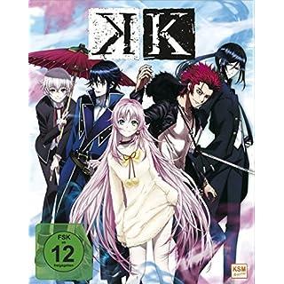 K - Episode 01-05 (Sammelschuber) [Blu-ray]