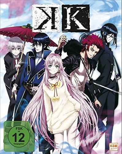 K – Episode 01-05 (Sammelschuber) [Blu-ray]