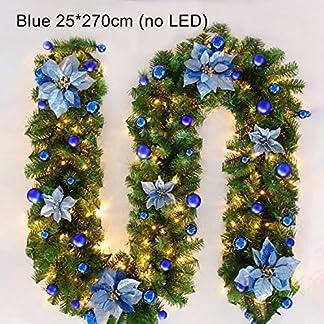 AGKupel-Weihnachtsgirlande-27M-Tannengirlande-Tannenzweiggirlande-Weihnachtsdeko-Trkranz-fr-Innen-Auen-Verwendbar-Weihnachten-Dekoration-Ohne-Lichter