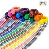 WOCLHJ Crayons bébé Enfants Lavable écologique Non Toxique 12 Couleurs Crayons de Jouets Enfants