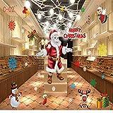 Weihnachten Schneeflocke Fenster Aufkleber Winter Wandaufkleber Abnehmbare Weihnachten Glas...
