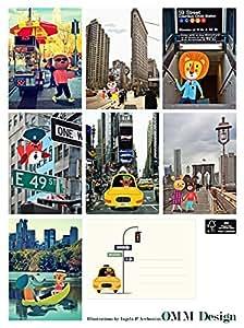 Cartes Friends in New York par Ingela P. Arrhenius - OMM DESIGN