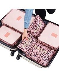 LA HAUTE – 6 organizadores para maleta de viaje