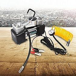 Dc 12v 150psi Heavy Duty Tyre Inflator Car Van Air Compressor Auto Large Volume Inflator Pump