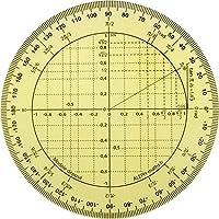 ALEPH Rapporteur trigonométrie Rapporteur circulaire - 11 cm