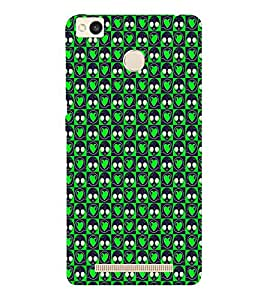EPICCASE green eyes Mobile Back Case Cover For Xiaomi Redmi 3S (Designer Case)