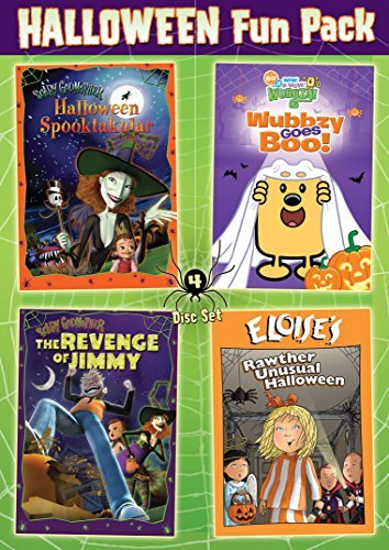 Kids Halloween 4 Dvd Set by Not Available