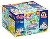 Pampers Baby Dry Pannolini Extralarge, Taglia 6 (15-30 kg), 93 Pannolini