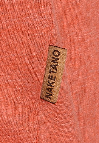 Naketano Female Shortsleeve Acid Girl VII Heritage Spicy Red Melange