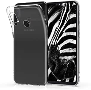 kwmobile Crystal Case Compatible with Samsung Galaxy A20e - Soft Flexible TPU Silicone Protective Cover - Transparent