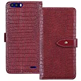 YLYH Business Case For Blackview P6000 5.5 inch Wallet Case