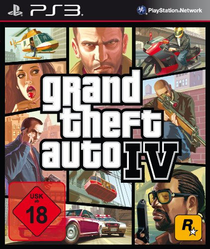 Grand Theft Auto IV - [PlayStation 3] (Spiele 6 Gta Ps3)