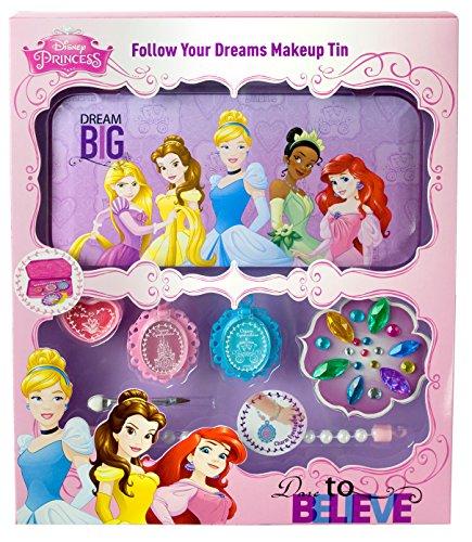 Markwins Disney Prinzessinnen Geschenk-Set in Metall-Dose mit Princess-Print, 1er Pack (Lidschatten,...