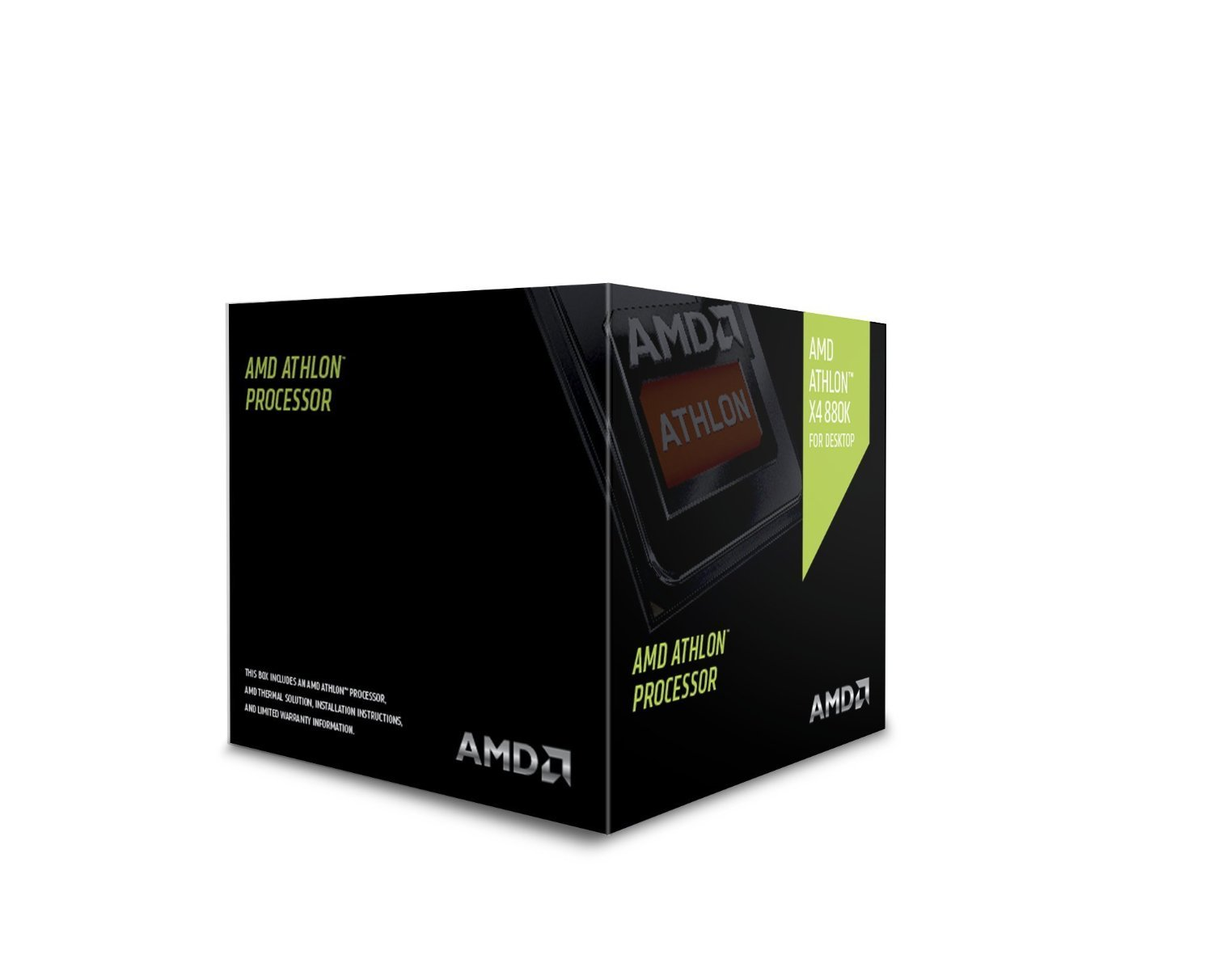 AMD Athlon X4 880K 4GHz 4MB L2 Box - processors (AMD Athlon X4, Socket FM2+, PC, 880K, L2, DDR3-SDR