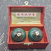 QTZS Chinesisches Traditionelles Fitness Ball Dekompression Handball Grün Totem 50mm450g preisvergleich bei billige-tabletten.eu