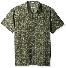 7d441a3538a Columbia Men's Declination Trail Ii Short Sleeve Shirt, Mosstone Tropica,  Large Image