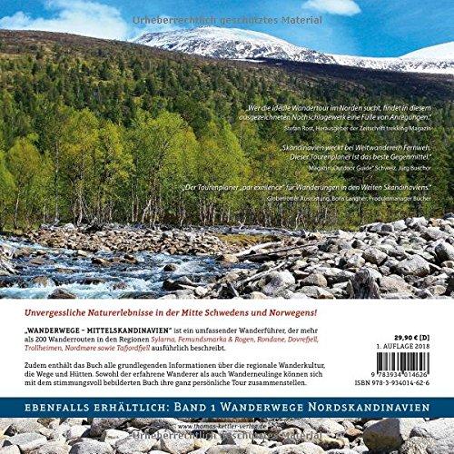 Wanderwege Mittelskandinavien: Über 200 Wanderrouten in der beeindruckenden Landschaft Mittelschwedens und Mittelnorwegens (Allgemeines Programm): Alle Infos bei Amazon