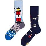 Many Mornings Nordic Lighthouse Socks Multi