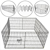 Pisces Medium 8 Panel Pet Puppy/Dog PlayPen Run