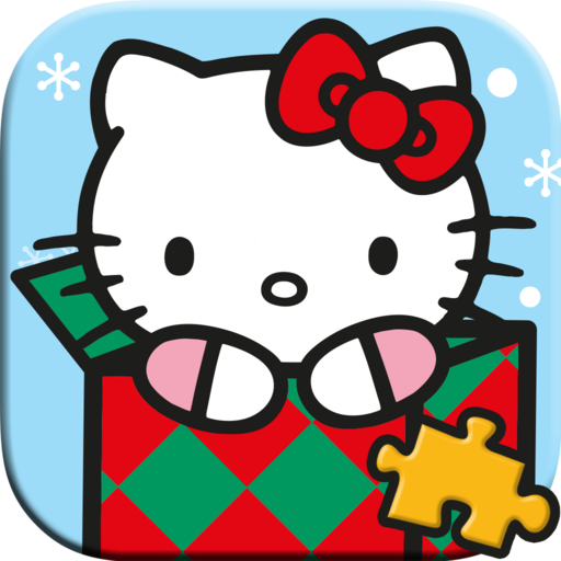 Hello Kitty Christmas Jigsaw Puzzle Game for Kids - Full Version (Freetime Edition)