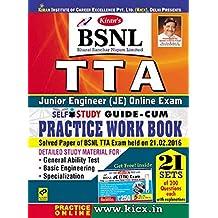 Kiran's BSNL TTA Online Exam Self Study Guide – Cum – Practice Work Book (With Online Mock Test Scratch Card) – English - 1710