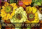 Blüten dicht an dicht (Tischkalender 2019 DIN A5 quer): Ein kunterbunter blumiger Augenschmaus (Geburtstagskalender, 14 Seiten ) (CALVENDO Natur)