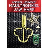 Orig. Schwarz Maultrommel Golden Star 82mm, Nr. 15