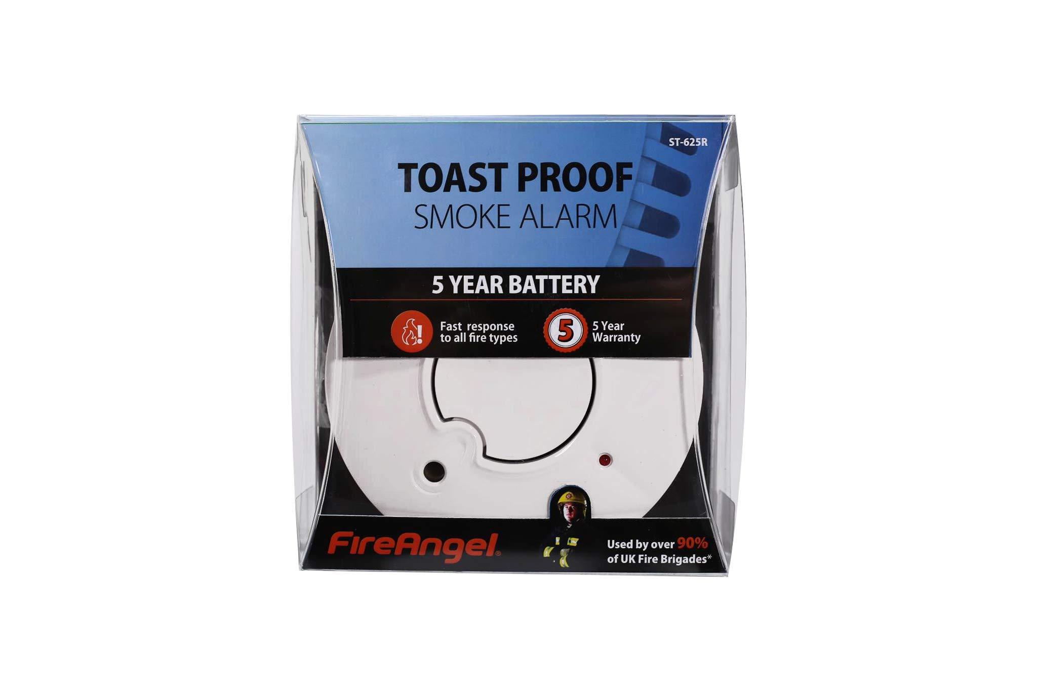 Thermoptek Toast Proof Smoke Alarm - FireAngel ST-625 6