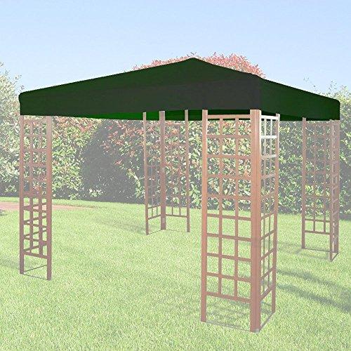GIARDINI DEL RE Jardines del Rey 16754Tela de repuesto para cenador, 300x 300x 2cm, verde