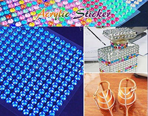 Autocollant Autocollant Autocollant acrylique Bling à la mode - FashionLife B074PQ3VWF db4f60