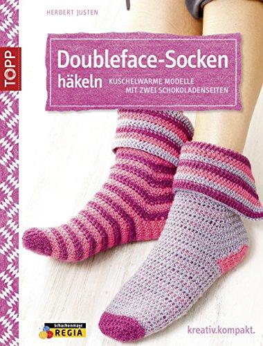 Doubleface Socken Häkeln Kuschelwarme Modelle Mit Zwei