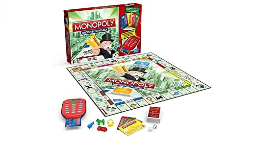 Hasbro - Monopoly Electronic Banking Gioco Da Tavolo [Versione ...