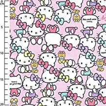 Kiyohara Tela Infantil Sanrio Hello Kitty Pause Rosa x10cm 9df7f801d3bb