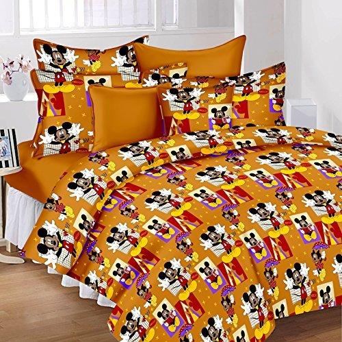 Lenzuola Matrimoniali Mickey Mouse.Lali Prints Mickey Mouse Bambini Fumetto 100 Cotone 1 Matrimoniale