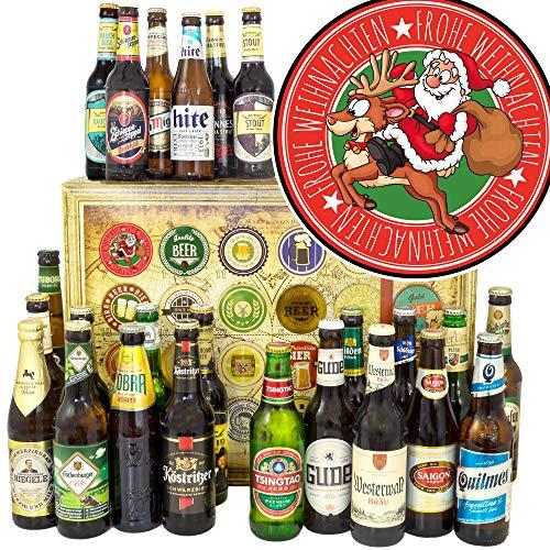 Santa Frohe Weihnachten / 24 Biere der Welt + Deutschland