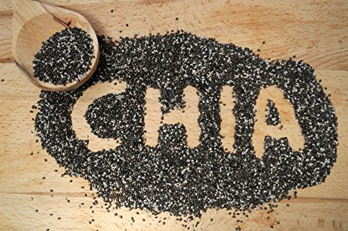 25 kg Chia Samen Glutenfrei Salvia Hispanica Chia-Samen Proteine Superfoods Omega 3 Fitness Sport