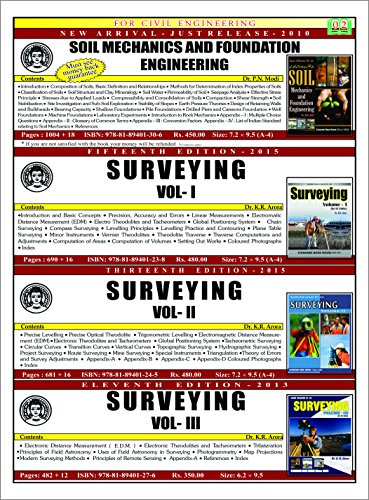 Surveying Vol-1 (15th edition,2015)