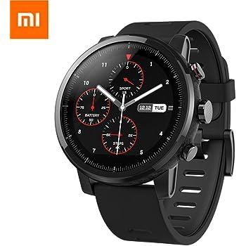 EdwayBuy Xiaomi Amazfit Stratos 2 Smartwatch Reloj Inteligente Deportivo con GPS Bluetooth Pantalla Táctil Monitor de