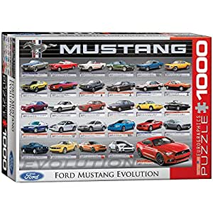 Eurographics Puzzle 1000 Pc - Ford Mustang Evolution 50th Anniversary (LS)