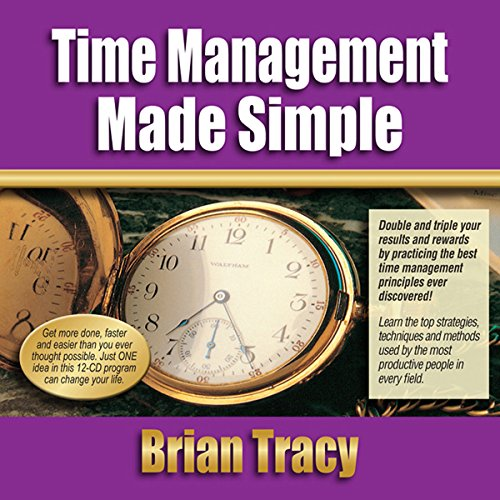Time Management Made Simple  Audiolibri