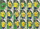 ADRENALYN XL FIFA WORLD CUP 2018 FULL 18 CARD BRAZIL TEAM SET