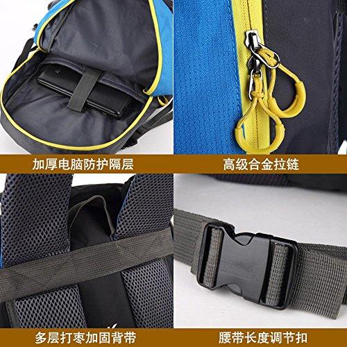BUSL Outdoor-Klettern Tasche Schulter männliche große Kapazität 60L Camping Rucksack weiblichen Sporttasche a